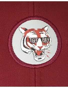 Casquette Trucker Tiger bordeaux