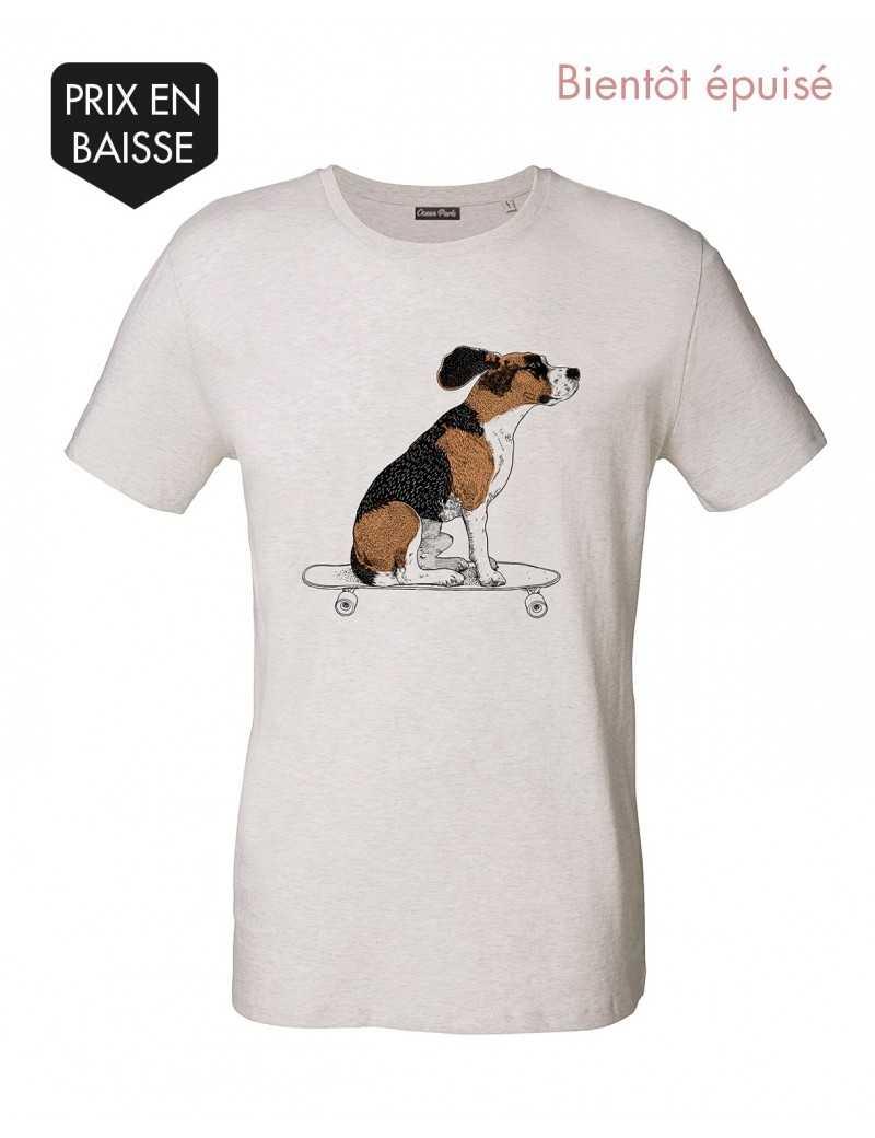 Tee-shirt Homme SKATE DOG
