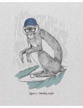 Tee-shirt MONKEY SURF kid
