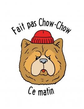 Tee-shirt femme Chow Chow