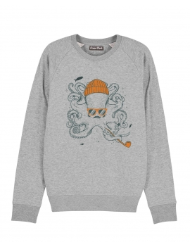 Sweat-shirt Homme POULPE