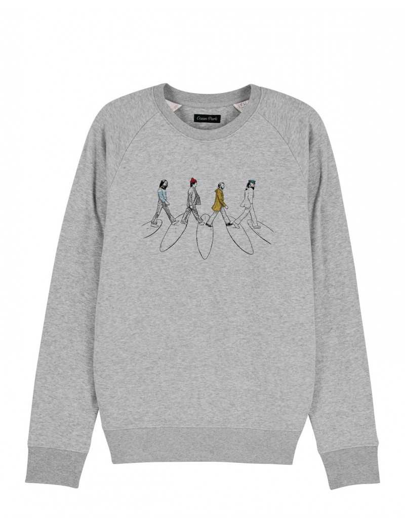 Sweat-shirt Homme SURF ROAD