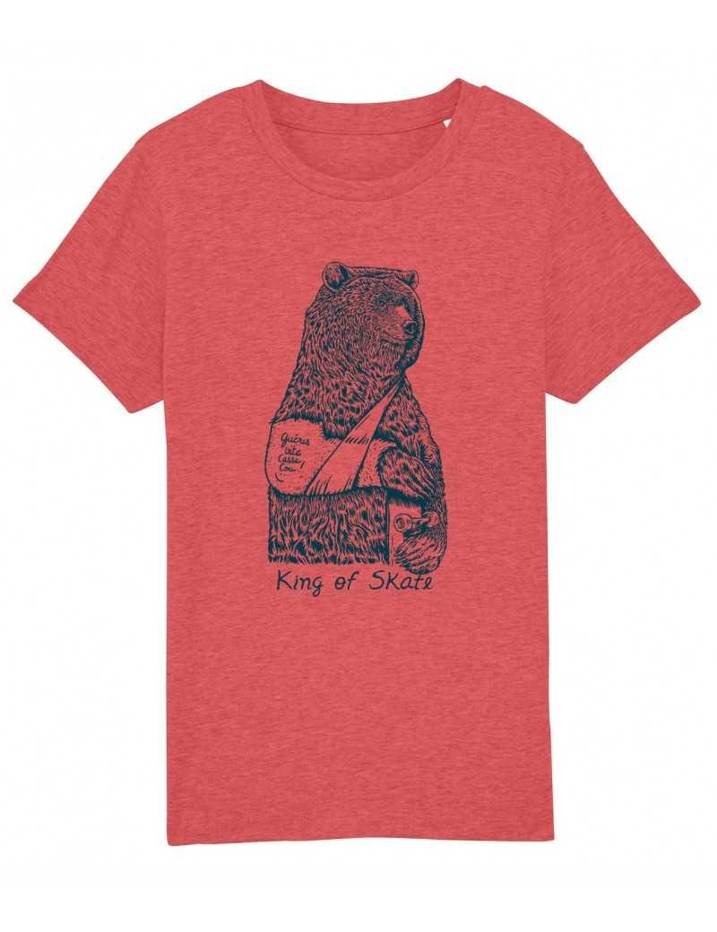 Tee-shirt KING OF SKATE Kid