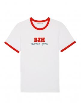 Tee-shirt femme BZH Home spot