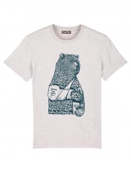 Tee-shirt CASSE COU VERT