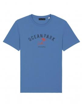 T-shirt ocean park bleu