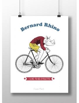 Affiche Bernard Rhino