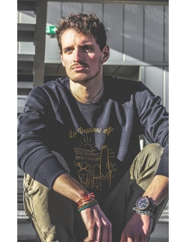 Sweat-shirt Homme VACANCES ENFIN