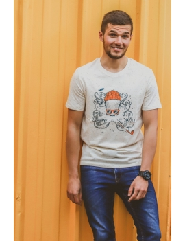Tee-shirt Homme POULPE