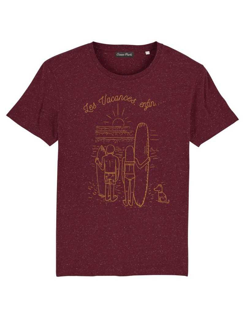 Tee-shirt Homme VACANCES ENFIN