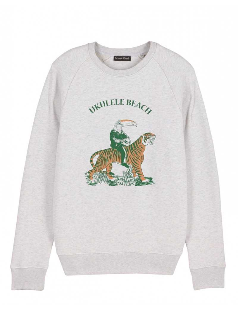 Sweat-shirt Homme UKULELE BEACH