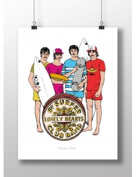 Affiche Sergent Surfeur