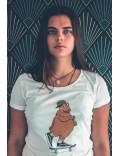 Tee-shirt femme Ile aux Skaters