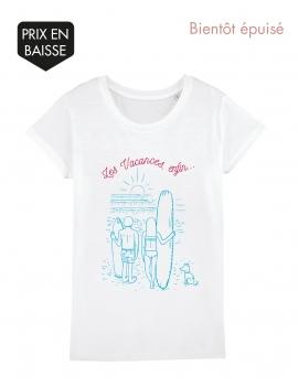 Tee-shirt femme vacances