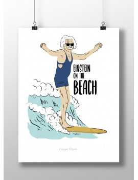Affiche Einstein on the Beach