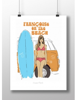 Affiche Françoise on the Beach