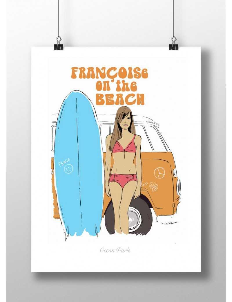 Affiche Françoise on the Beach