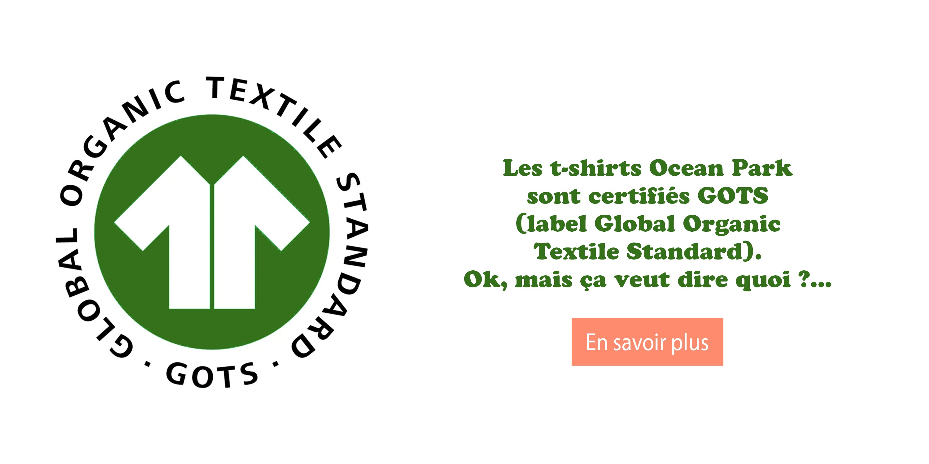 label Global Organic Textile Standard GOTS